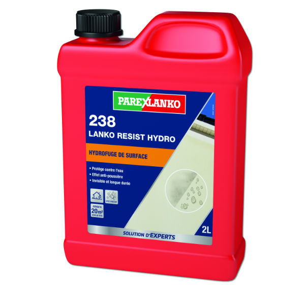 Hydrofuge de Surface 238 Lanko Resist Hydro ParexLanko, 2 litres