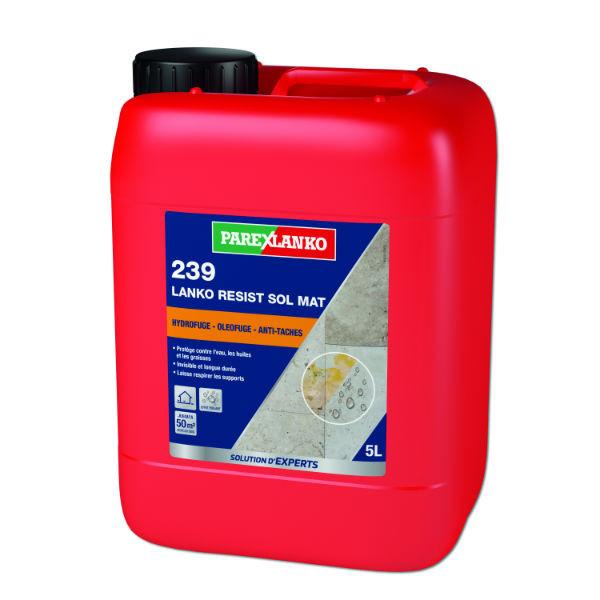 Hydrofuge Oléofuge 239 Lanko Resist Sol Mat ParexLanko, 5 litres