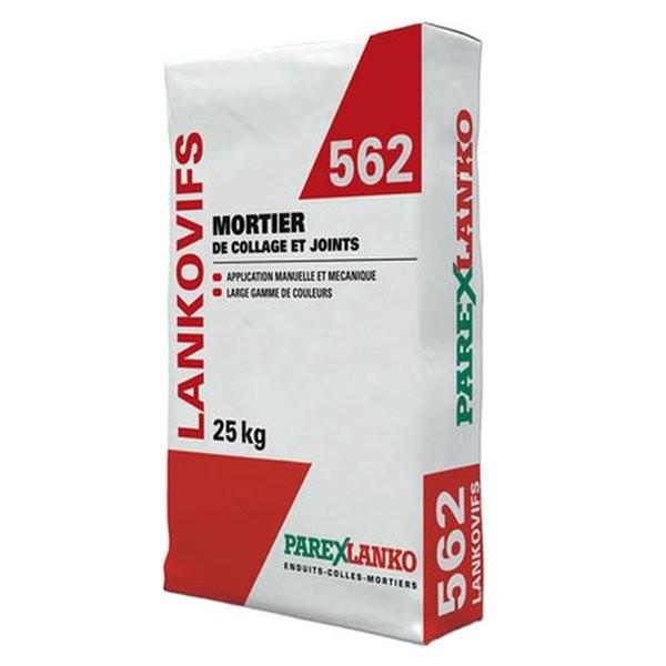 Mortier de Jointoiement Lankovifs 562 couleur noir, sac de 25kg