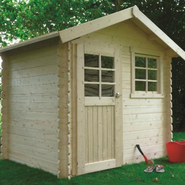 Abri de jardin bois autoclave SOLID modèle LAVAL 238x198cm