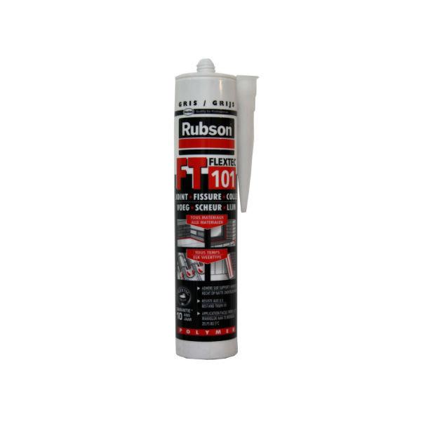 Mastic Gris pour Joint et Fissure Rubson FT 101, 280ml