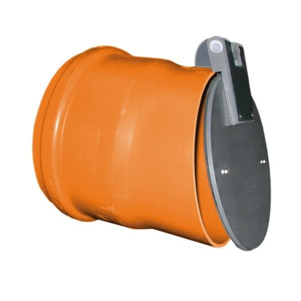 Clapet de nez PVC à joint diamètre 125 mm