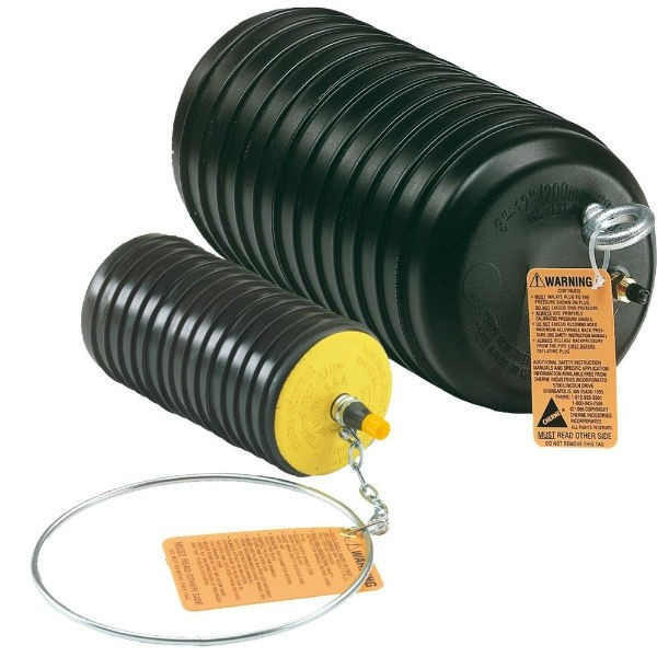 Obturateur gonflable Norham Flo-Bloc MT6-10 diamètre 150/250 mm