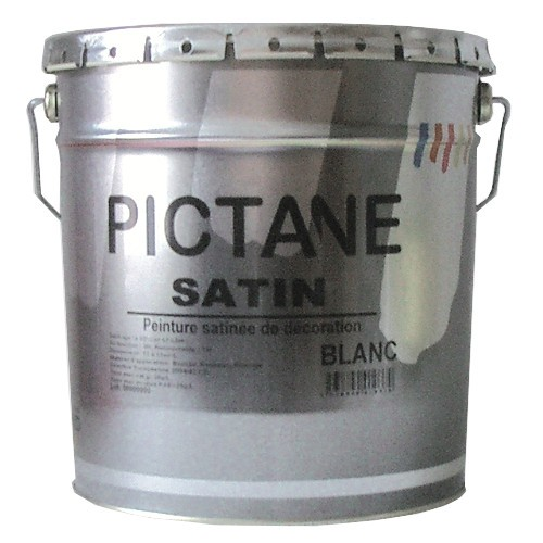 Peinture Acrylique Pictane Satin Md Toutes Teintes 1 Litre