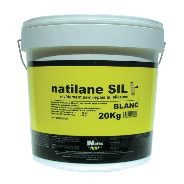 Peinture rénovateur de façade semi-épais Natilane SIL Natec, 5 kg