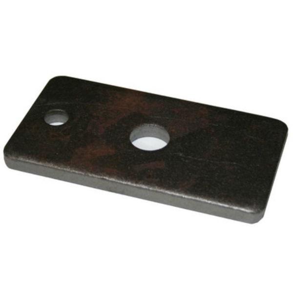 Plaque d'appui pour Coffrage diamètre 15/17, 130 x 70 mm, par 10