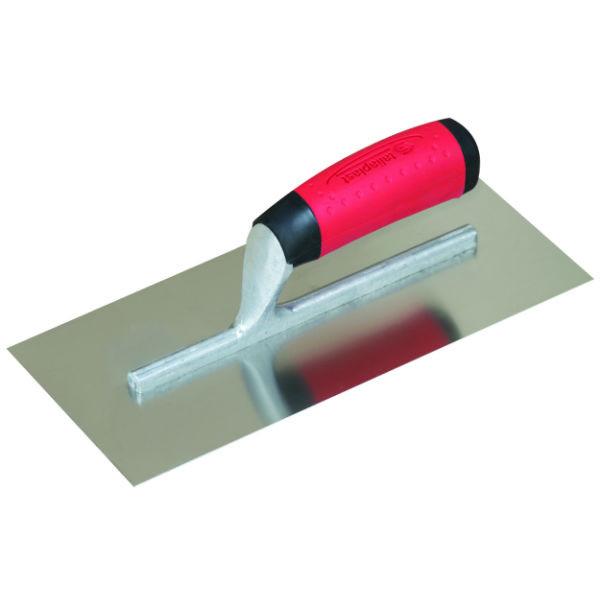 Platoir Inox 28 x 12 cm Taliaplast pour Chape Béton
