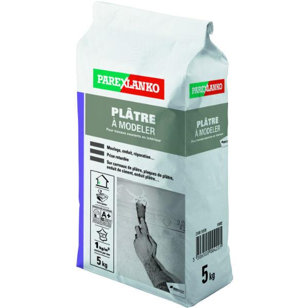 Plâtre à Modeler ParexLanko, 5 kg