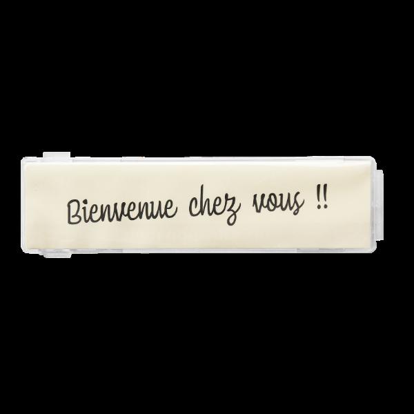 Porte Nom Transparent Pour Boite Aux Lettres Normalisees Materiauxnet Com