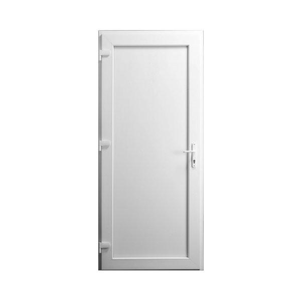 Porte Service Pvc Pleine 205x90 Materiauxnet Com