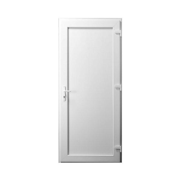 Porte de service PVC Pleine gauche 205 x 90 cm