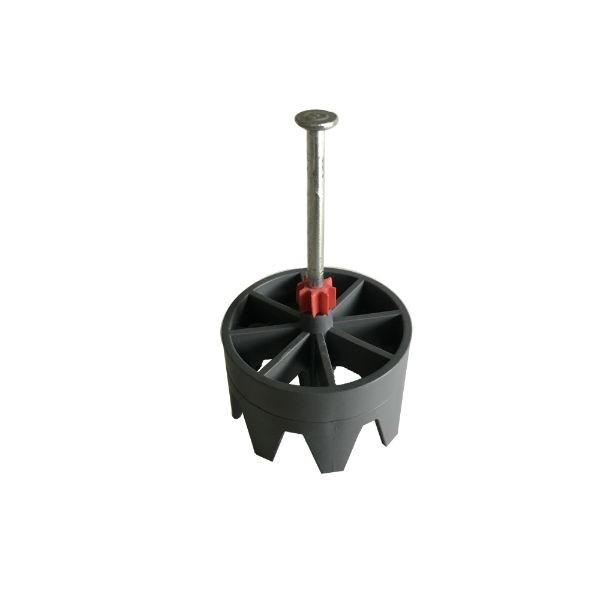 Positionneur de Coffrage Rond ⌀ 48 mm avec clou, par 100