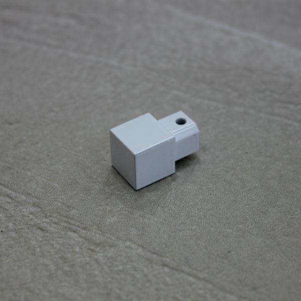 Embout Finition Carrelage Carre Laque Blanc 10 Mm Materiauxnet Com