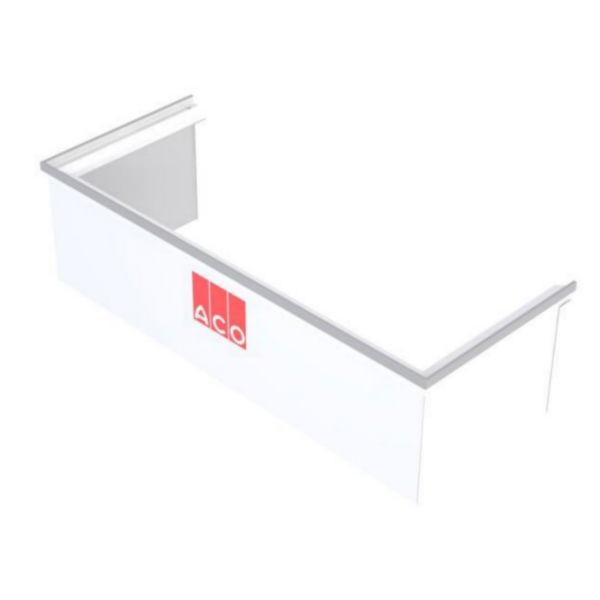 Rehausse Ajustable pour Cour Anglaise ACO 40 x 125 cm