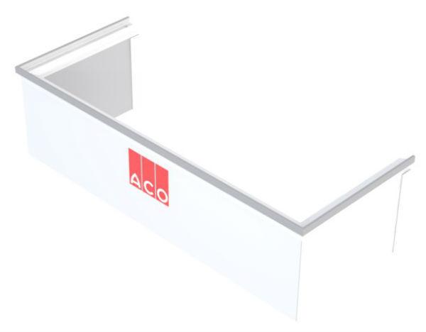 Rehausse Ajustable pour Cour Anglaise ACO 60x100 cm