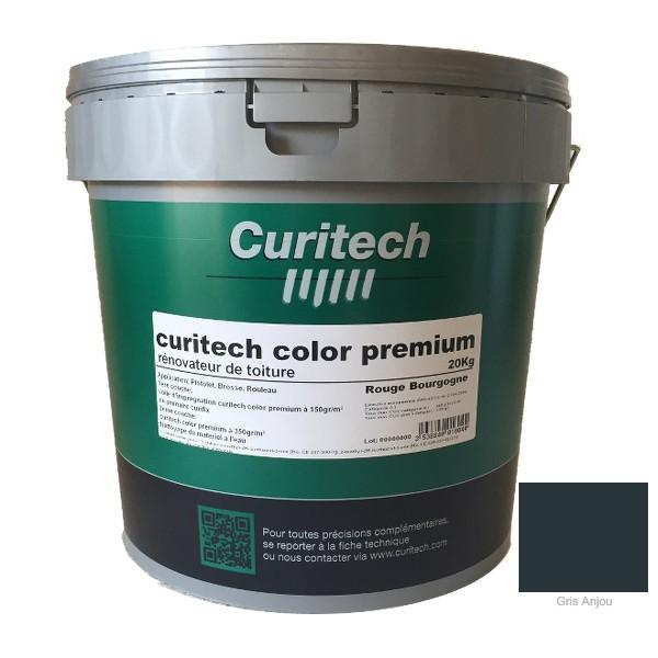 Rénovateur de toiture Curitech color premium Gris, 20 kg