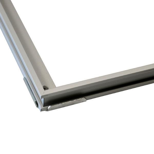 Cadre pour Paillasson Rosco 800x500mm hauteur 26mm Aluminium Anodisé
