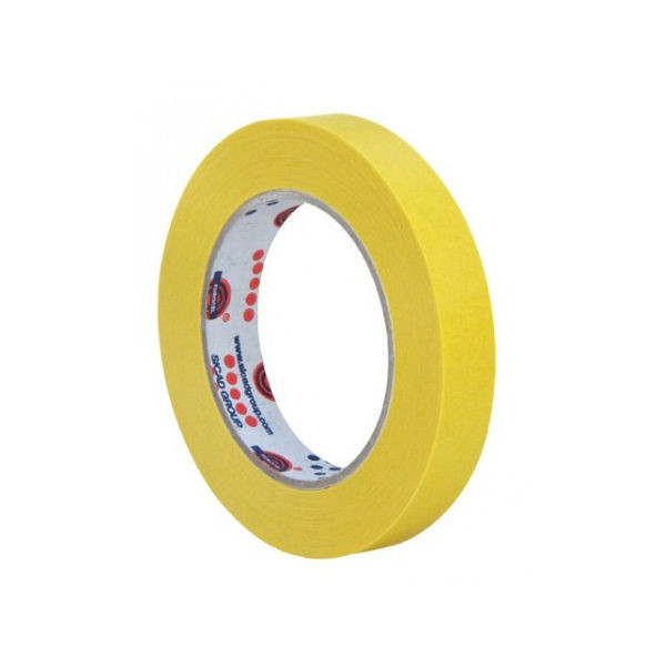 Ruban Adhésif PVC Isolant élec Jaune 15 mm x 10 m Eurocel ISOTAPE