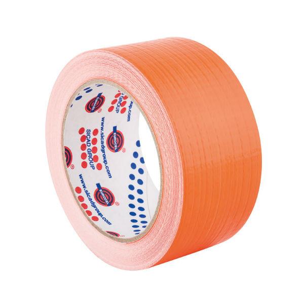 Ruban Adhésif PVC Façadier Orange 50 mm x 50 m Eurocel TPL210