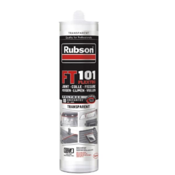 Mastic Translucide pour Joint et Fissure Rubson FT 101, 280ml
