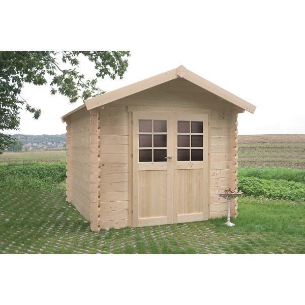 Abri de jardin bois autoclave SOLID modèle SEDAN 248x248 cm