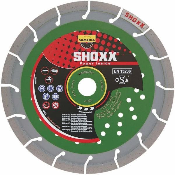 Kit 3 Disques Diamant Maçonnerie SHOXX ø125 + Meuleuse d'angle AGR100