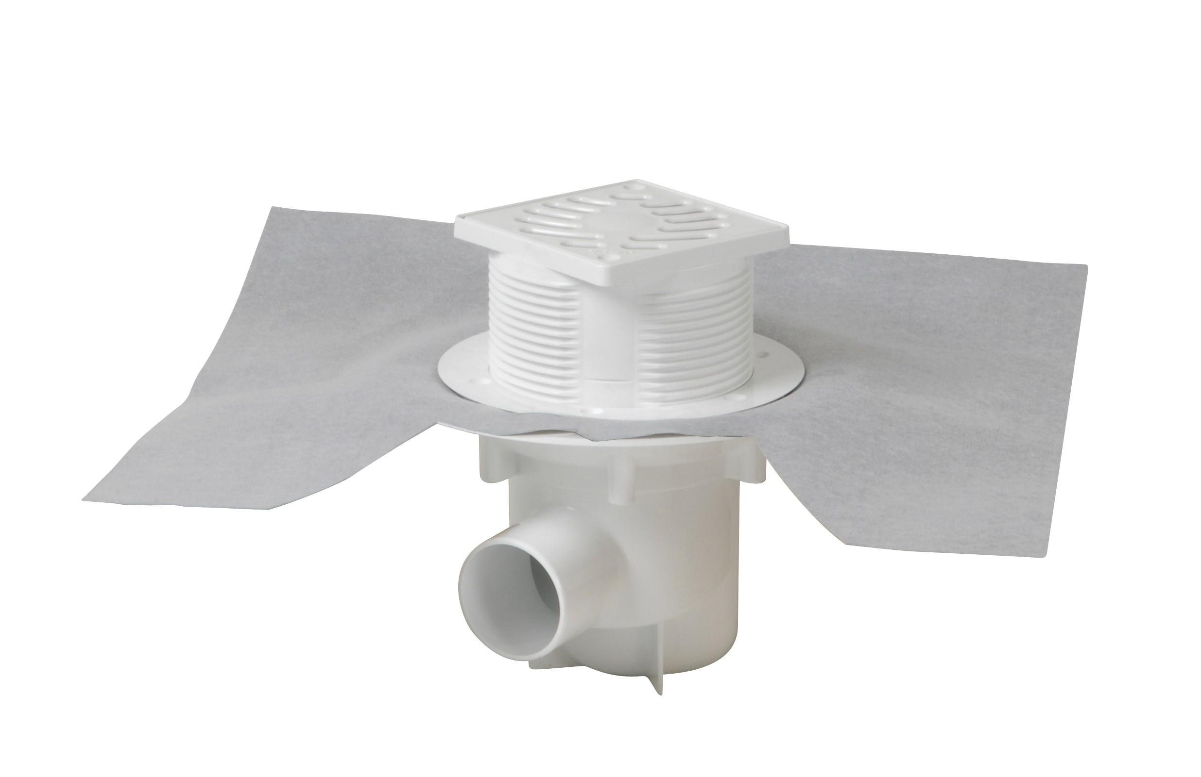 Siphon plastique /à sortie horizontale Nicoll