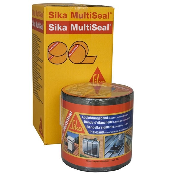 Bande d'étanchéité Sika multiseal gris 150 mm x 10 m, lot de 2