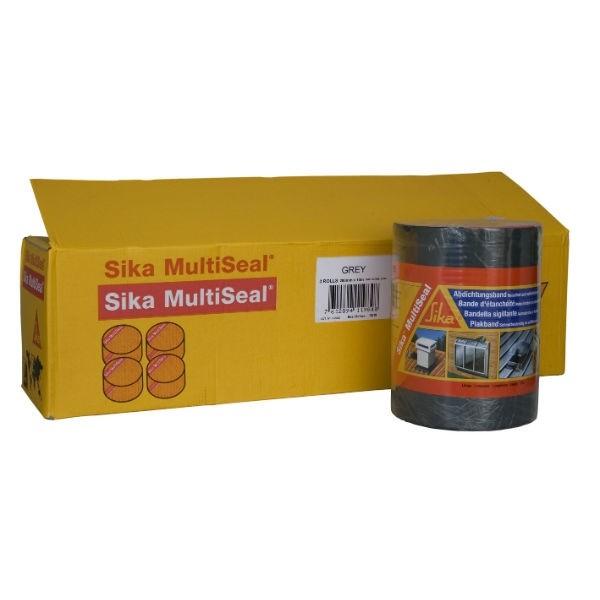 Bande d'étanchéité Sika multiseal gris 200 mm x 10 m, lot de 3