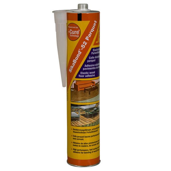 Mastic colle SIKABOND-52 parquet 12 cartouches de 300ml