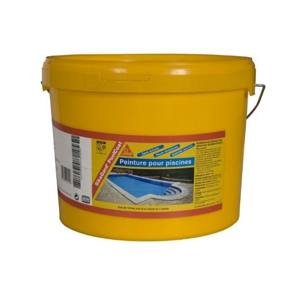 Revêtement de piscine SIKAGARD PoolCoat Blanc bidon de 10 litres