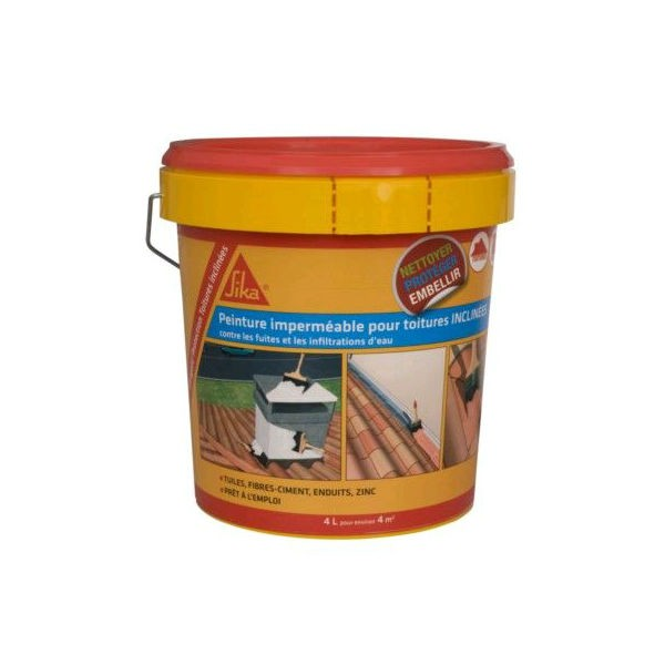 SIKAGARD protection toiture inclinée Terre cuite seau 4l