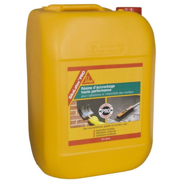 Résine d'accrochage Sikalatex PRO en bidon de 20 litres