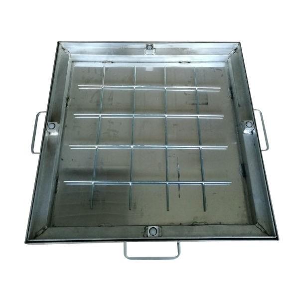 Couvercle à carreler en Aluminium 80 x 80 cm