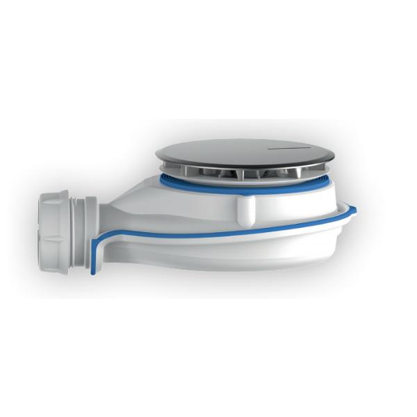 Bonde Receveur de Douche Turboflow XS ⌀90 ABS Chromé Nicoll TBXS