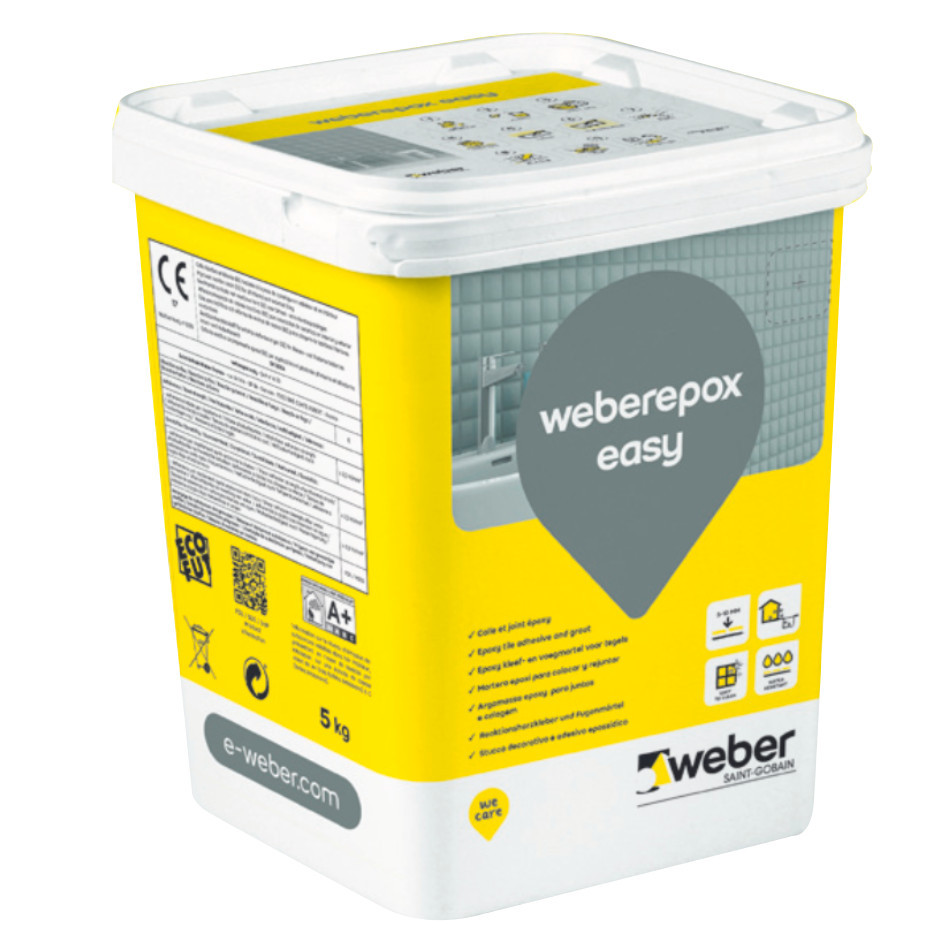 Colle et Joint Epoxy Weberepox Easy 5 kg