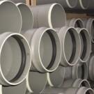 Tuyaux PVC assainissement CR8 à joints en 3 Ml DN 400, le tuyau