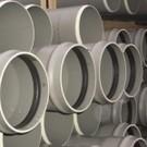 Tuyaux PVC assainissement CR8 à joints en 3 Ml DN 125, le tuyau