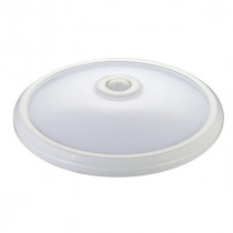 Hublot LED Polycarbonate Blanc  20W Détecteur IR 005389