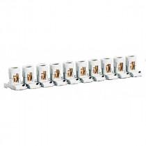 Barrette de 10 Bornes Séparables Legrand 2x25mm² par Borne 034003