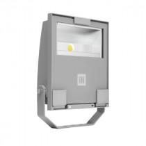 Projecteur LED Guell Prisma 1/A40/53W Couleur Gris Métallisé 06106794