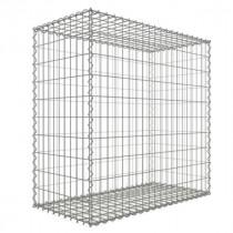 Gabion Cube 100 x 100x20 - fil 4 mm - maille 5x5 cm