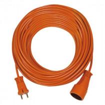 Rallonge Électrique Orange 20m câble 2x1,5 Brennenstuhl 1162201