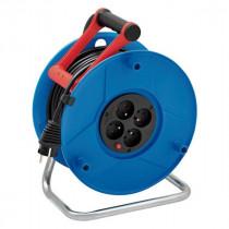 Enrouleur Électrique 25 m 3G1.5 avec 4 prises Brennenstuhl 1210251