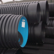 Tuyau annelé/lisse diamètre 300 mm longueur 6 ml
