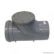 Clapet anti retour PVC MF diam 200 mm à joint, l'unité