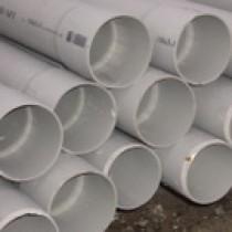 Tuyau PVC Diamètre 125 mm Longueur 4 m NF