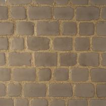 Pavés Courtstone Natural largeur 12,9 x longueur variable x 5,8 cm couleur Asch, la palette de 5,465 M2