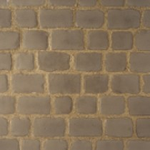 Pavés Courtstone Natural largeur 12,9 x longueur variable x 5,8 cm couleur Asch, la palette de 5,465 M2