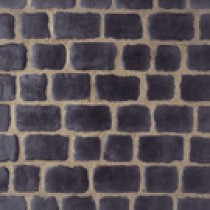 Pavés Courtstone Natural largeur 12,9 x longueur variable x 5,8 cm couleur Basalt, la palette de 5,465 M2
